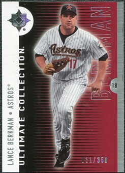 2008 Upper Deck Ultimate Collection #24 Lance Berkman /350
