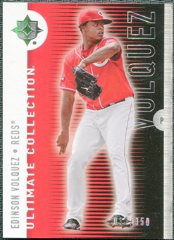 2008 Upper Deck Ultimate Collection #35 Edinson Volquez /350