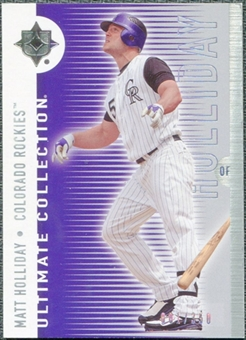 2008 Upper Deck Ultimate Collection #42 Matt Holliday /350