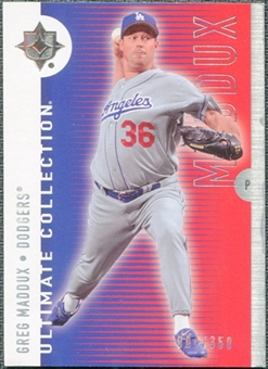 2008 Upper Deck Ultimate Collection #46 Greg Maddux /350