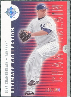 2008 Upper Deck Ultimate Collection #59 Joba Chamberlain /350