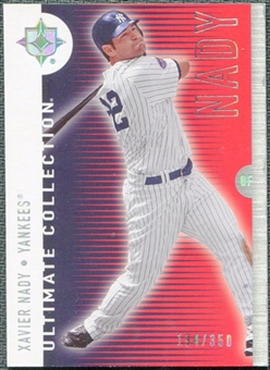 2008 Upper Deck Ultimate Collection #62 Xavier Nady /350