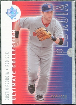 2008 Upper Deck Ultimate Collection #65 Dustin Pedroia /350