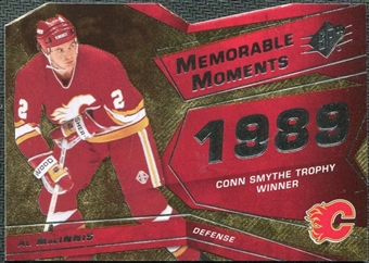 2008/09 Upper Deck SPx Memorable Moments #MMAM Al MacInnis