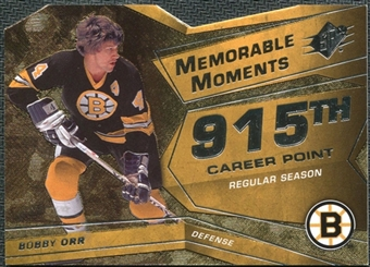 2008/09 Upper Deck SPx Memorable Moments #MMBO Bobby Orr