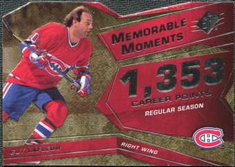 2008/09 Upper Deck SPx Memorable Moments #MMGL Guy Lafleur