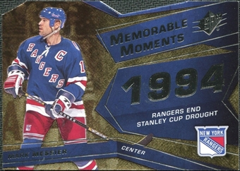 2008/09 Upper Deck SPx Memorable Moments #MMMM Mark Messier