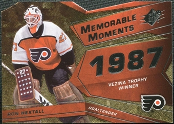 2008/09 Upper Deck SPx Memorable Moments #MMRH Ron Hextall