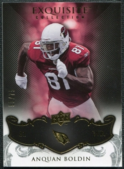 2008 Upper Deck Exquisite Collection #3 Anquan Boldin /75