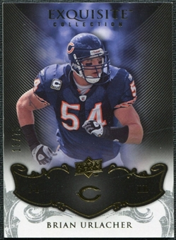 2008 Upper Deck Exquisite Collection #17 Brian Urlacher /75