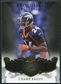 2008 Upper Deck Exquisite Collection #33 Champ Bailey /75