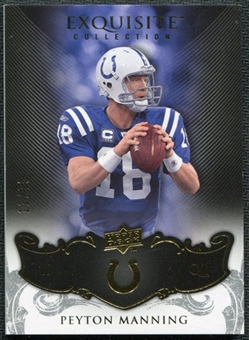 2008 Upper Deck Exquisite Collection #41 Peyton Manning /75