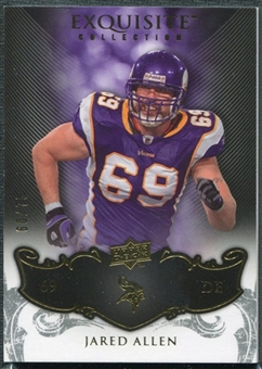2008 Upper Deck Exquisite Collection #55 Jared Allen /75