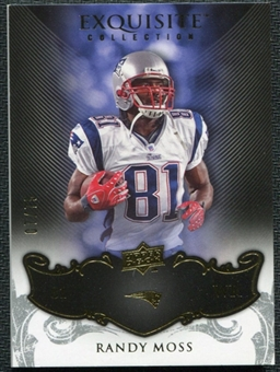 2008 Upper Deck Exquisite Collection #58 Randy Moss /75