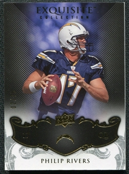 2008 Upper Deck Exquisite Collection #79 Philip Rivers /75