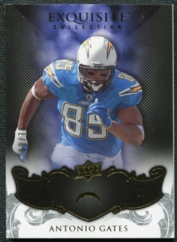 2008 Upper Deck Exquisite Collection #81 Antonio Gates /75