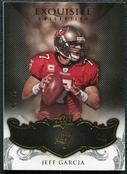2008 Upper Deck Exquisite Collection #92 Jeff Garcia /75