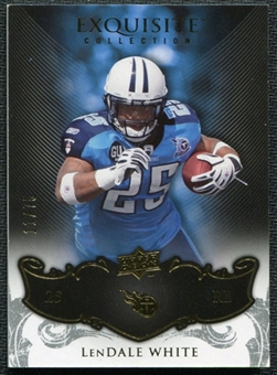 2008 Upper Deck Exquisite Collection #96 LenDale White /75