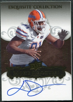 2008 Upper Deck Exquisite Collection #116 Derrick Harvey Autograph /150