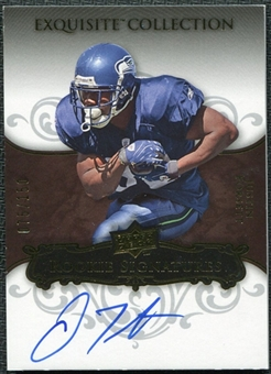 2008 Upper Deck Exquisite Collection #132 Justin Forsett Autograph /150