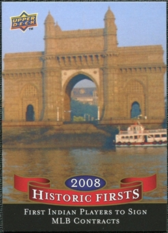 2009 Upper Deck Historic Firsts #HF6 First Indian Players Signed