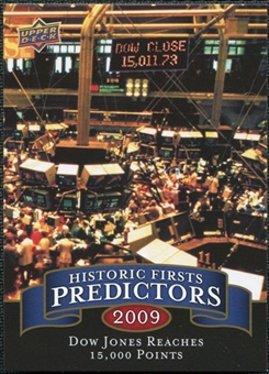 2009 Upper Deck Historic Predictors #HP3 Dow Reaches 15000