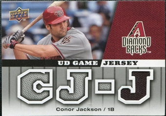 2009 Upper Deck UD Game Jersey #GJJA Conor Jackson