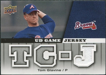 2009 Upper Deck UD Game Jersey #GJTG Tom Glavine