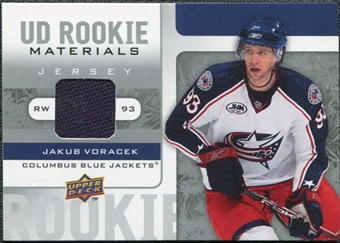 2008/09 Upper Deck Rookie Materials #RMJV Jakub Voracek