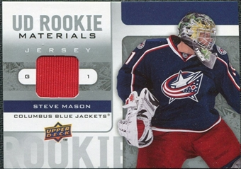 2008/09 Upper Deck Rookie Materials #RMMA Steve Mason