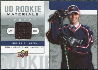 2008/09 Upper Deck Rookie Materials #RMNF Nikita Filatov