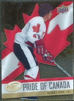 2008/09 Upper Deck Ice Pride of Canada #GOLD3 Bobby Orr
