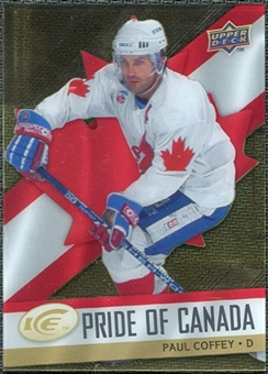 2008/09 Upper Deck Ice Pride of Canada #GOLD17 Paul Coffey