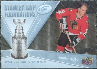 2008/09 Upper Deck Ice Stanley Cup Foundations #SCFBH Bobby Hull