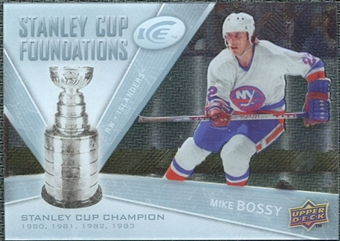 2008/09 Upper Deck Ice Stanley Cup Foundations #SCFMI Mike Bossy