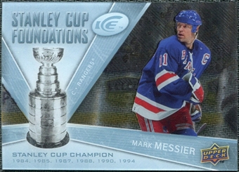 2008/09 Upper Deck Ice Stanley Cup Foundations #SCFMM Mark Messier