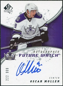 2008/09 Upper Deck SP Authentic #229 Oscar Moller RC Autograph /999
