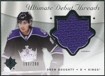 2008/09 Upper Deck Ultimate Collection Debut Threads #DTDD Drew Doughty /200