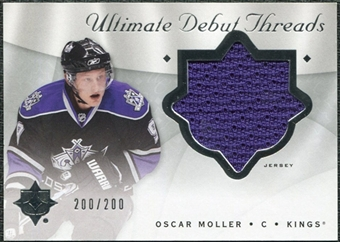2008/09 Upper Deck Ultimate Collection Debut Threads #DTOM Oscar Moller /200