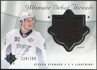 2008/09 Upper Deck Ultimate Collection Debut Threads #DTSS Steven Stamkos /200