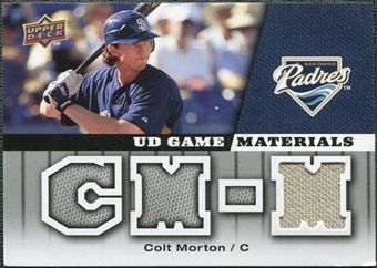 2009 Upper Deck UD Game Materials #GMCM Colt Morton