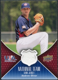 2009 Upper Deck USA National Team Jerseys #AO Andrew Oliver