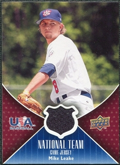 2009 Upper Deck USA National Team Jerseys #ML Mike Leake