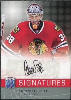 2008/09 Upper Deck Be A Player Signatures #SCH Cristobal Huet Autograph