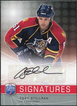 2008/09 Upper Deck Be A Player Signatures #SCS Cory Stillman Autograph