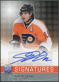 2008/09 Upper Deck Be A Player Signatures #SGA Simon Gagne Autograph