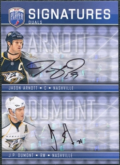 2008/09 Upper Deck Be A Player Signatures Dual #S2AD J.P. Dumont / Jason Arnott Autograph