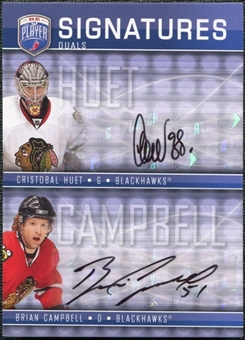2008/09 Upper Deck Be A Player Signatures Dual #S2CH Cristobal Huet / Brian Campbell Autograph