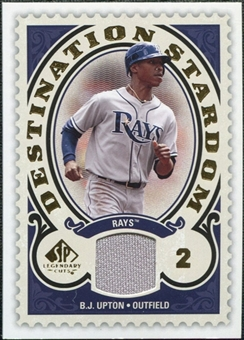 2009 Upper Deck SP Legendary Cuts Destination Stardom Memorabilia #BU B.J. Upton