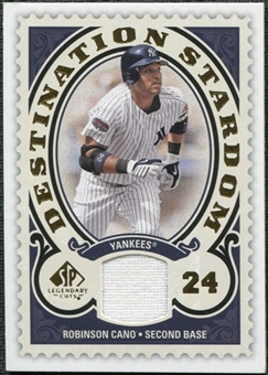 2009 Upper Deck SP Legendary Cuts Destination Stardom Memorabilia #RC Robinson Cano